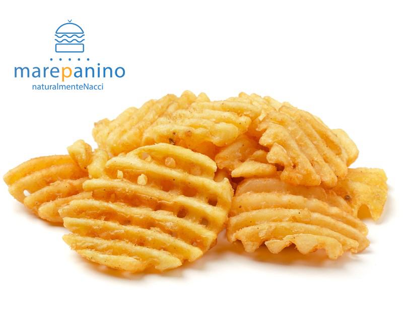 patatine Goffredo panini di pesce speziate